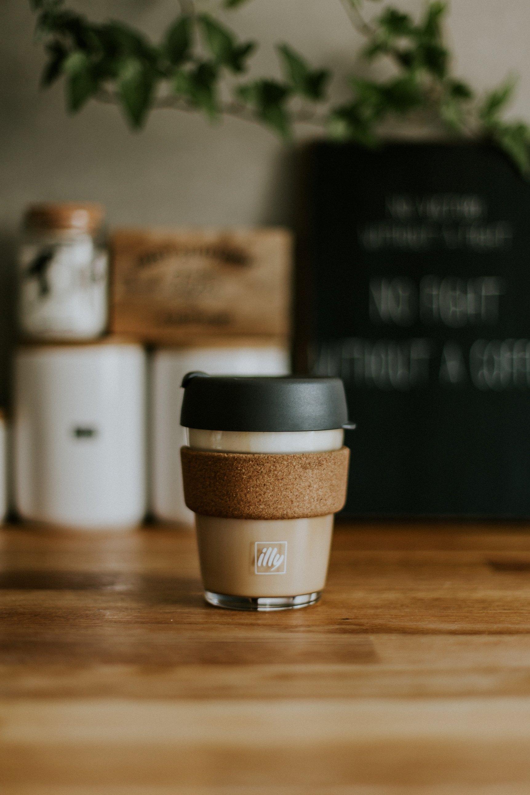 herbruikbare koffiebeker