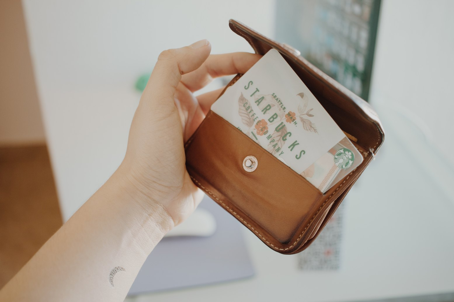 minimaliseren in portemonnee